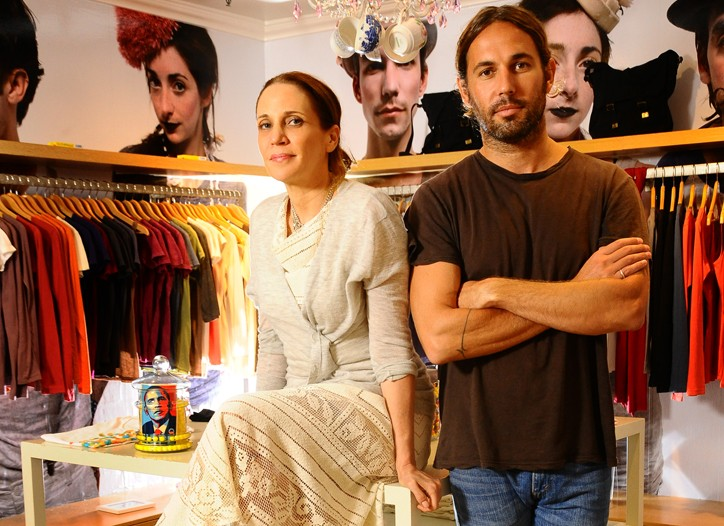 Jeannine Braden and John Moore mix art and commerce at 15 Minutes.