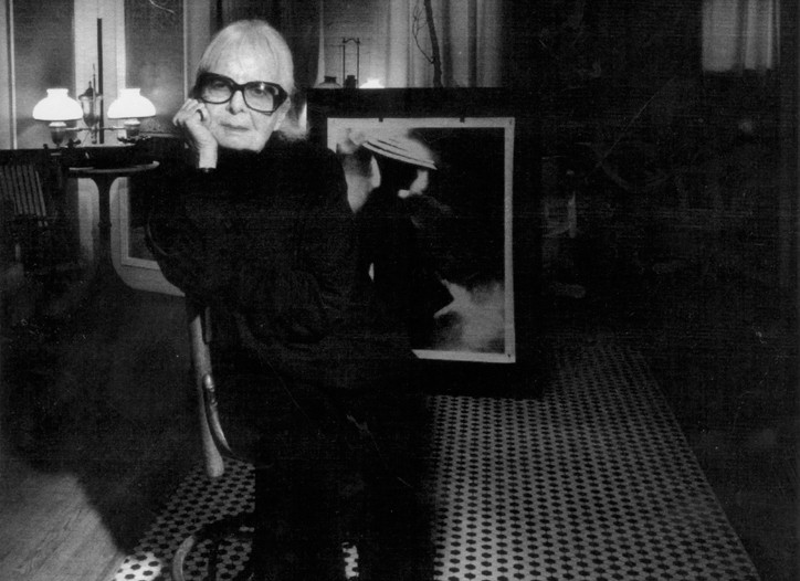Lillian Bassman in her home.
