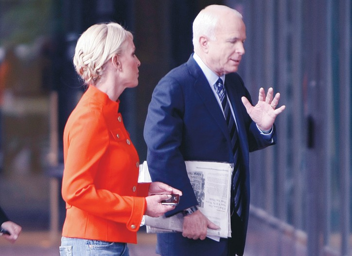Cindy McCain in Arlington, Va., Sept. 28.