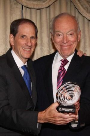 Michael Gould and Leonard Lauder