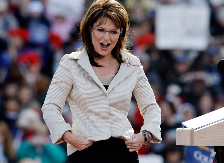 Palin in Lancaster, Pa., Oct. 18