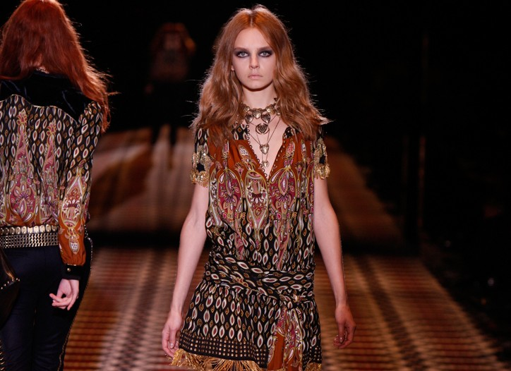 PPR cited strong sell-through of Gucci's fall-winter ready-to-wear, which had a Bohemian theme.