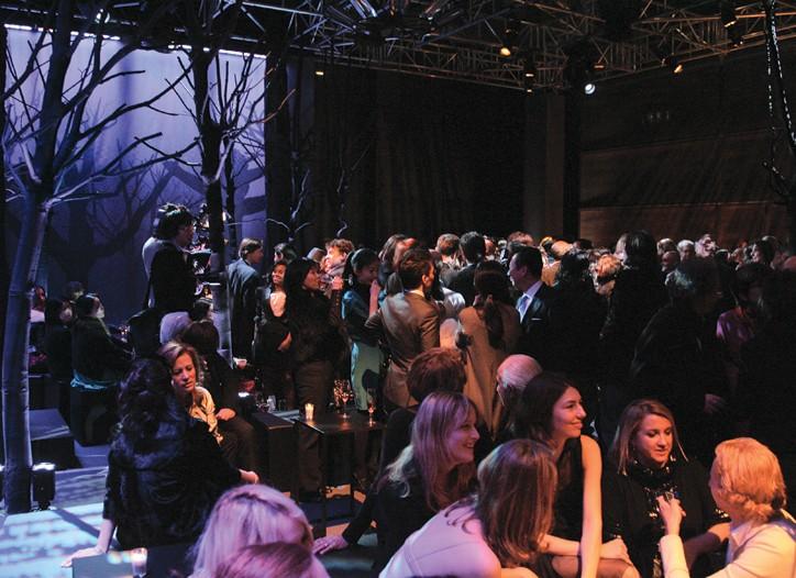 The Fendi party for Dita Von Teese's birthday.