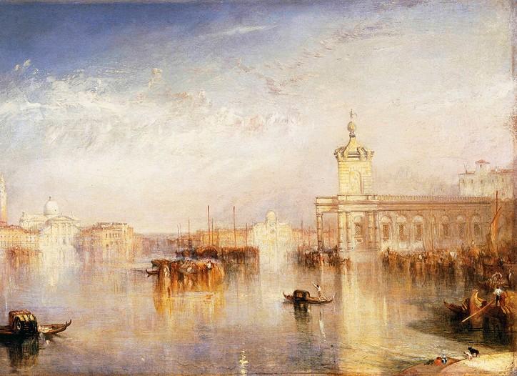 J.M.W. Turner's The Dogano.