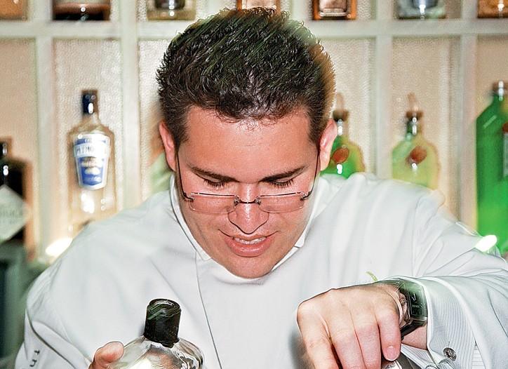 Junior Martinez, a.k.a The Liquid Chef
