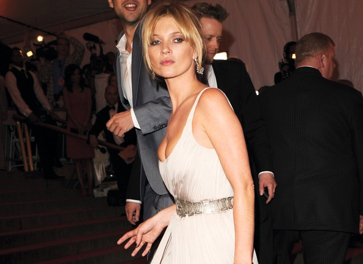 Kate Moss at the 2008 Costume Institute gala.