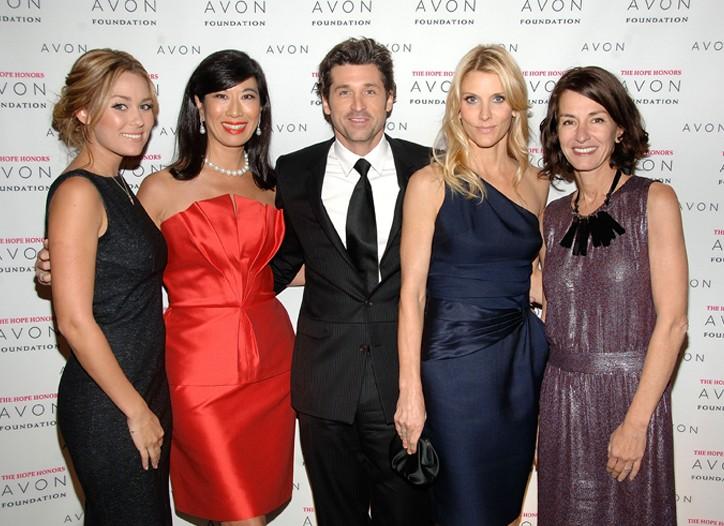 Lauren Conrad, Andrea Jung, Patrick and Jillian Dempsey and Cynthia Rowley.