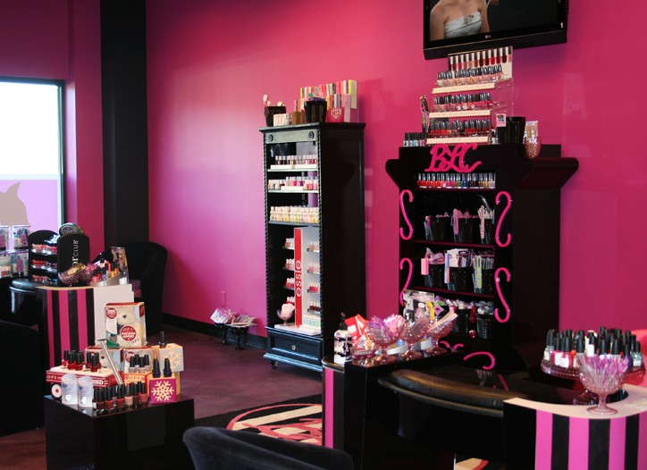 Inside Beauty Land Couture.