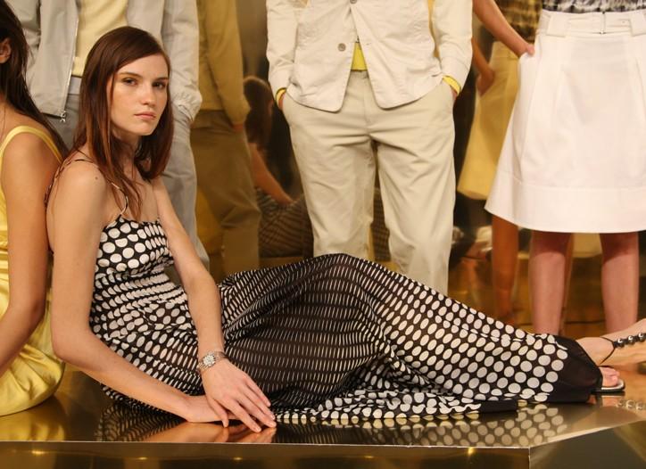 A spring look from Calvin Klein.