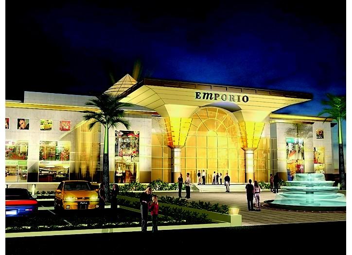 Rendering of  the Emporio Mall in New Delhi