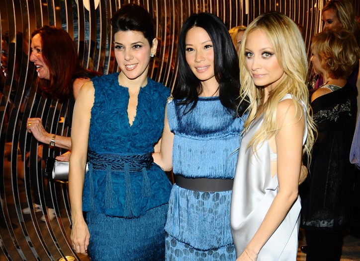 Marisa Tomei, Lucy Liu and Nicole Richie.