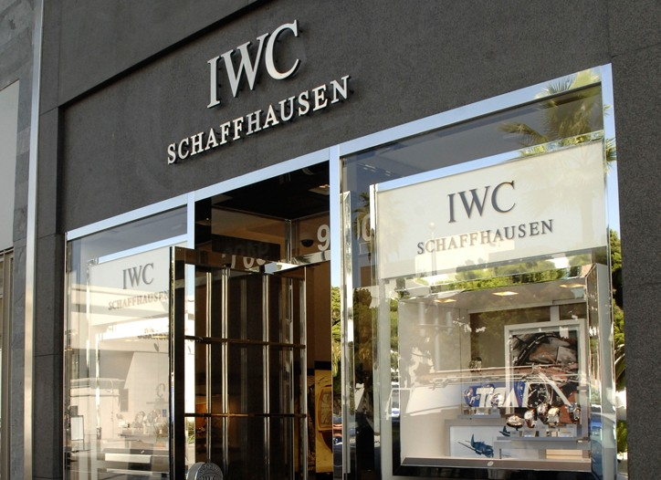 IWC's L.A. store.