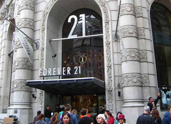 Forever 21 will open a flagship in Times Square.