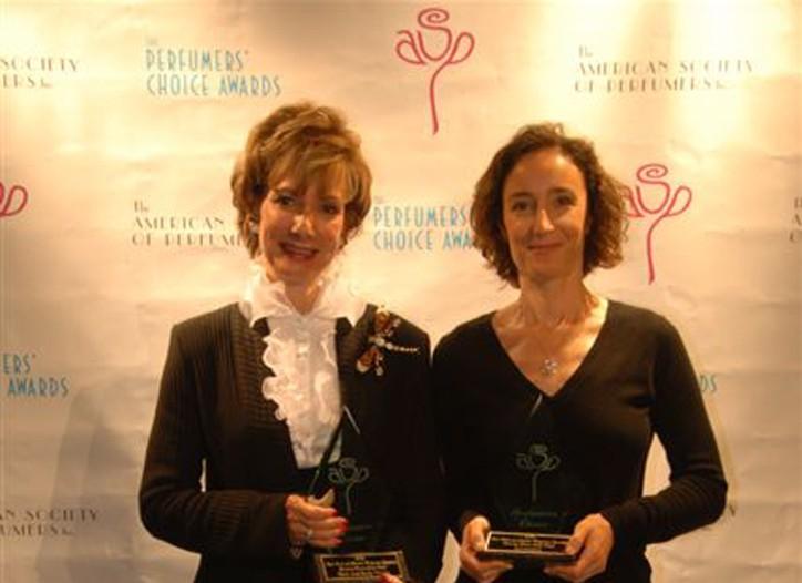 Camille McDonald and Givaudan perfumer Marypierre Julien.