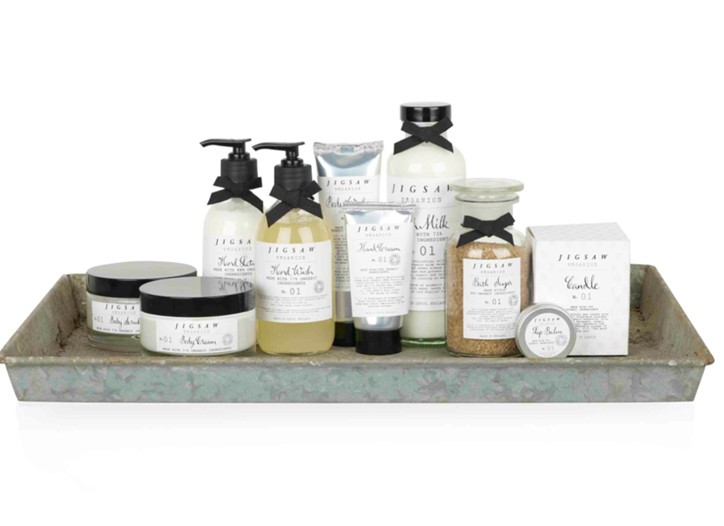 The Jigsaw Organics range.