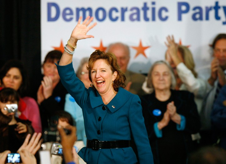 Democratic state senator Kay Hagan ran seven trade-focused ads during her campaign in North Carolina.
