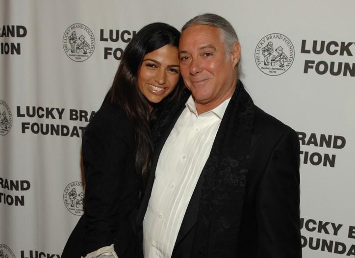 Camila Alves and Gene Montesano