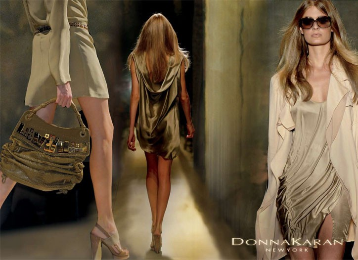 An image from Donna Karan's spring Collection campaign.