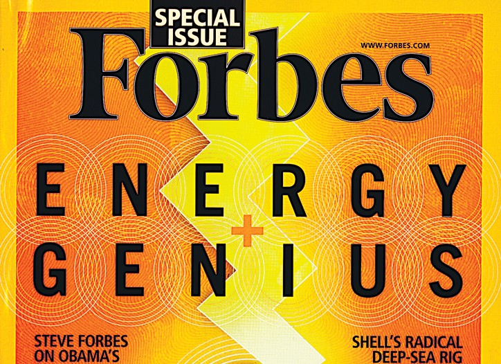 Cover of Forbes.