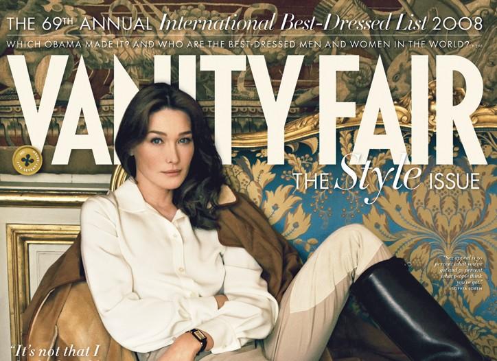 Vanity Fair cover.