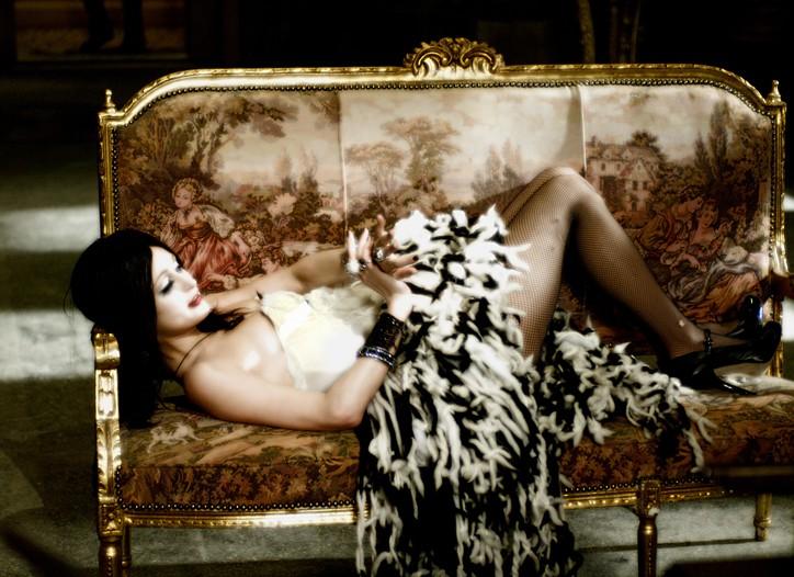 "Paris Hilton as Amber Sweet in ""Repo! The Genetic Opera."""