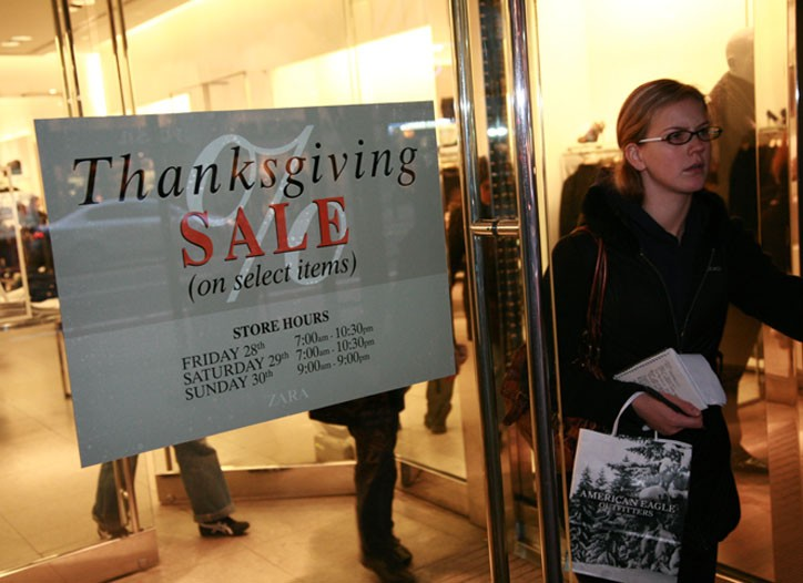 Sales and promotions proliferate at stores before Black Friday.