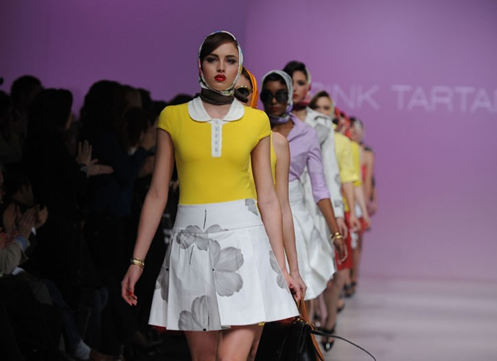 A look from Pink Tartan.