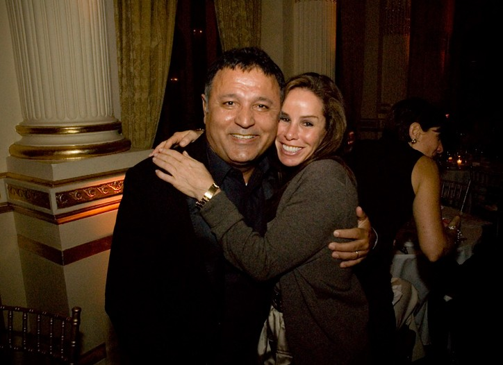 Elie Tahari and Melissa Rivers