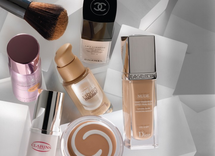 Lancome; Chanel; Classified; Maybelline; Dior; Clarins; Cover Girl & Olay