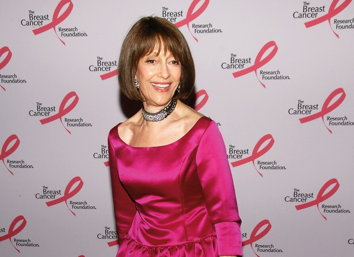 Evelyn Lauder at BCRF's Hottest Pink Party Ever in April.