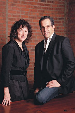 Jill Granoff and Kenneth Cole