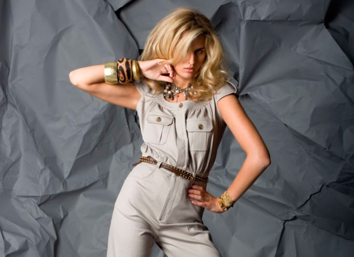 A jumpsuit from Alvin Valley Collection.