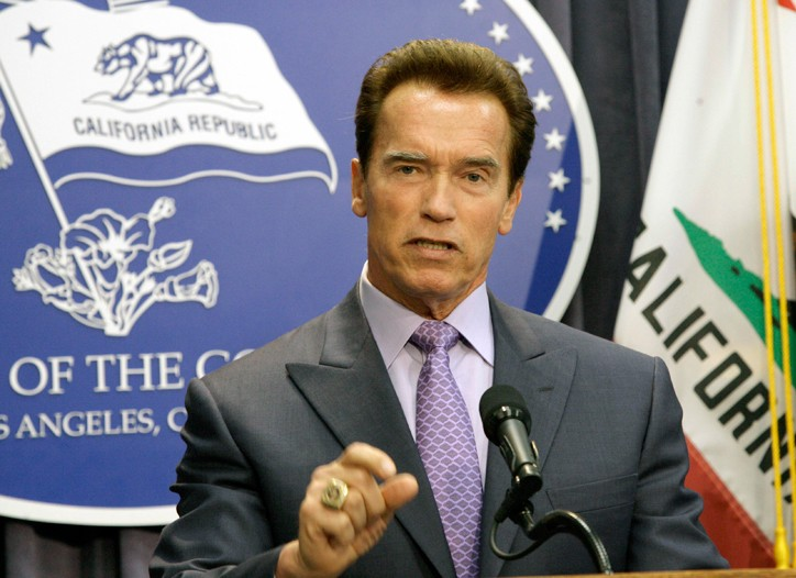 Gov. Arnold Schwarzenegger declared a fiscal emergency Monday.