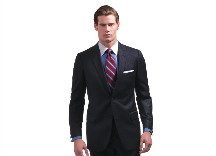 Suits are performing well at Brooks Brothers this holiday season.