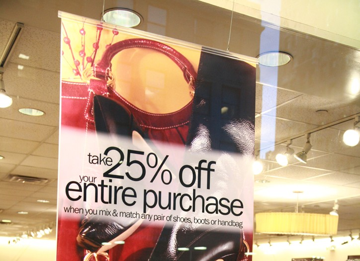 Early holiday promotions contributed to deflation in November.