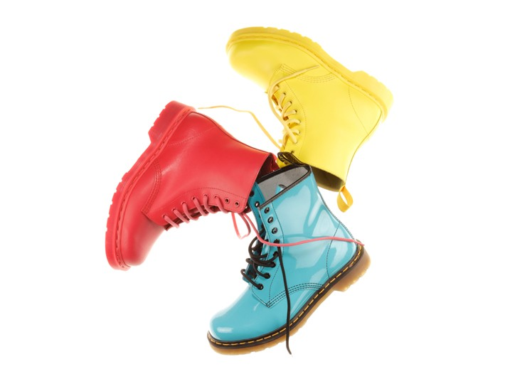 Shoes from the Dr. Martens spring 2009 collection.