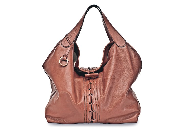 A Bag from the Eco Ferragamo collection.