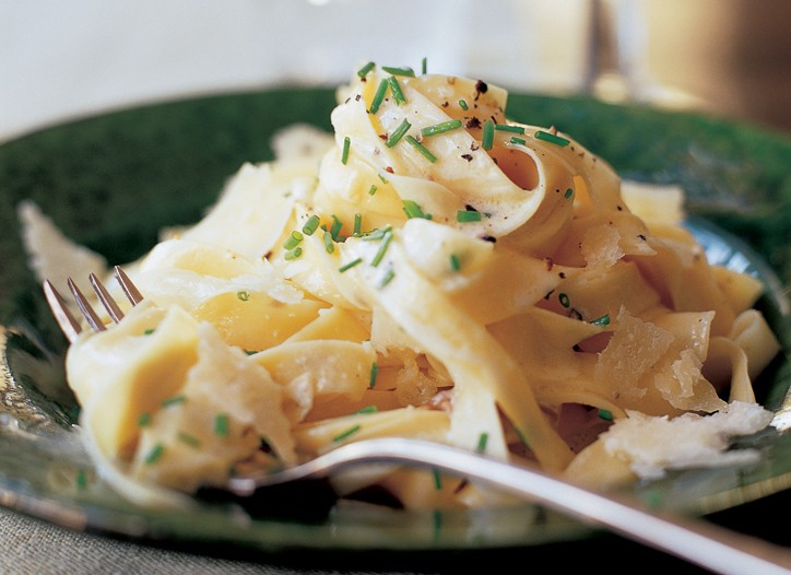 """Tagliarelle with Truffle Butter From Ina Garten's """"Back to Basics"""""""