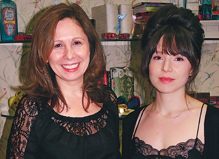 Only Hearts Helena Stuart with daughter and business partner Kaya Stuart.