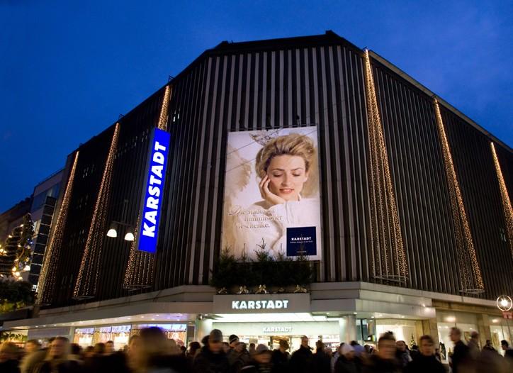 Karstadt department store in Dortmund