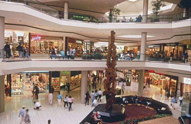 """Unlike many other malls nationwide losing tenants, Beverly Center in Los Angeles remains """"close to capacity"""" according to owner Taubman Centers."""