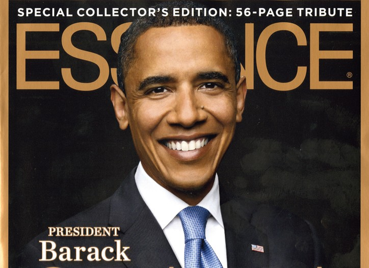 Essence's special Obama issue cover.