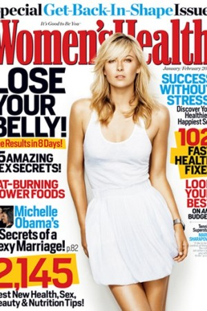 Women's Health's Jan/Feb 2009 cover.