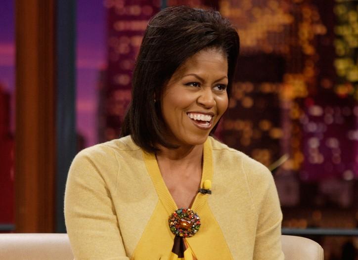 Michelle Obama in J. Crew.