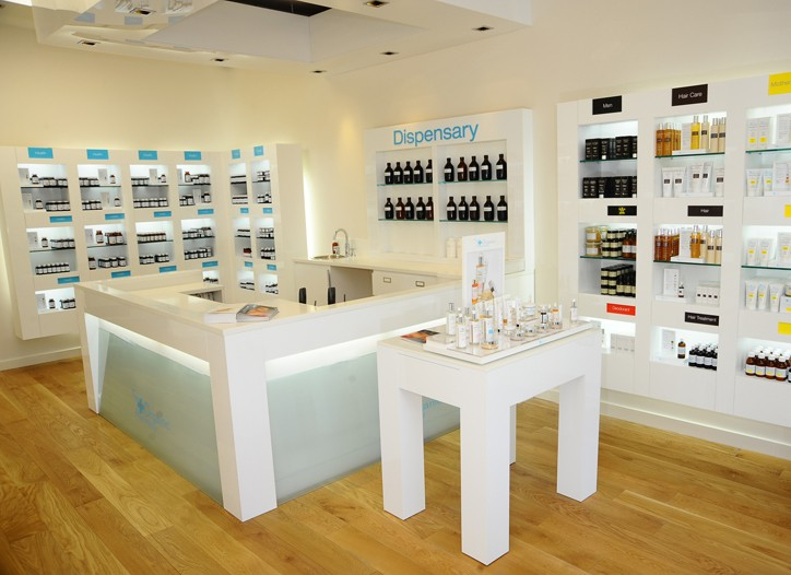 Organic Pharmacy's inaugural U.S. location.