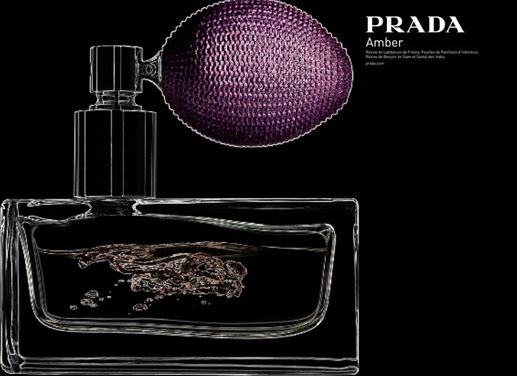 Prada's Amber scent.