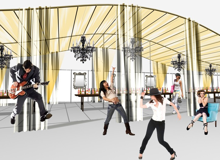 A rendering of the new Project show at Mandalay Bay.