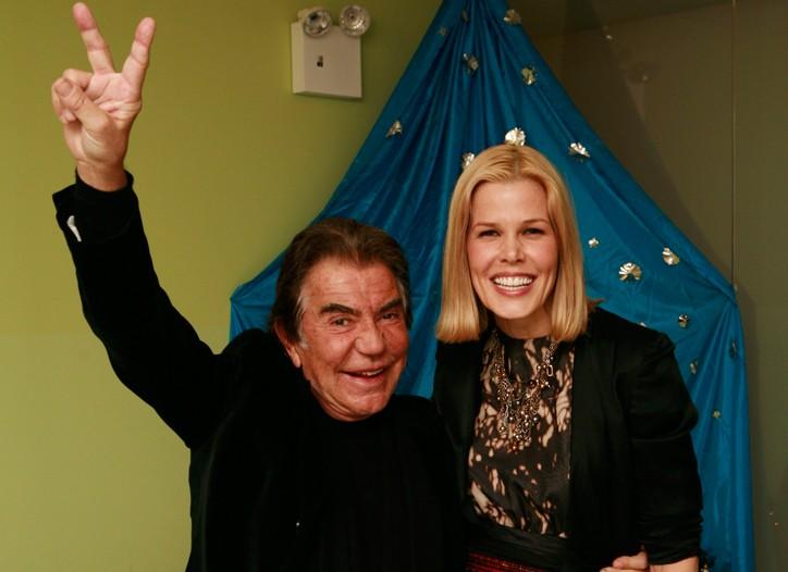 Roberto Cavalli and Mary Alice Stephenson in East Harlem.
