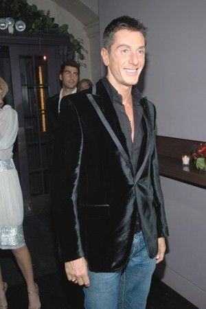 Stefano Gabbana attends his birthday party at Bette.