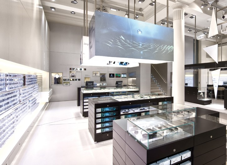 The Swarovski Crystallized Store and Lounge.